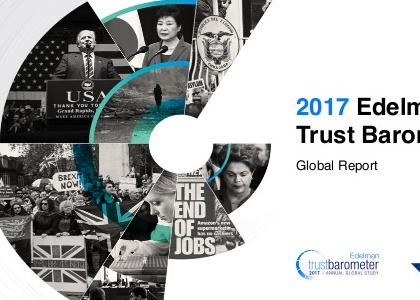 "Edelman Trust Barometer 2017: ""An Implosion of Trust"""