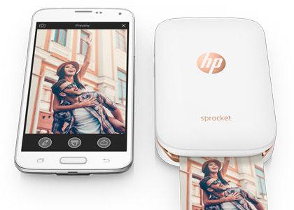 Gewinnspiel: Erinnerungen festhalten mit dem HP Sprocket Pocketdrucker